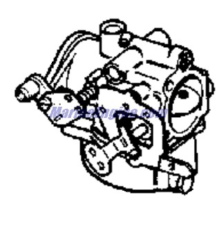 carburetor Parts for 1975 70hp 70esl75e Outboard Motor