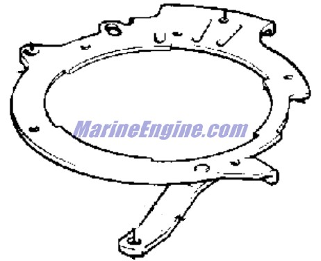 magneto Parts for 1975 9.9hp 10554c Outboard Motor