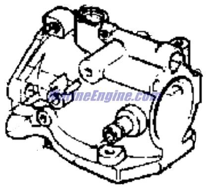 Evinrude Carburetor & Manifold Parts for 1977 9.9hp 10724A
