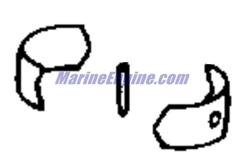 Evinrude Crankshaft & Piston-7.5 Parts for 1980 7.5hp
