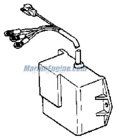 Evinrude Ignition System Parts for 1971 60hp 60172C