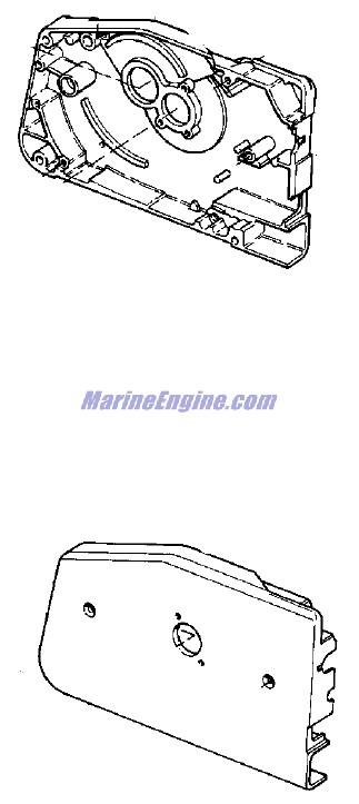 Evinrude Remote Control Parts for 1979 235hp 235949A