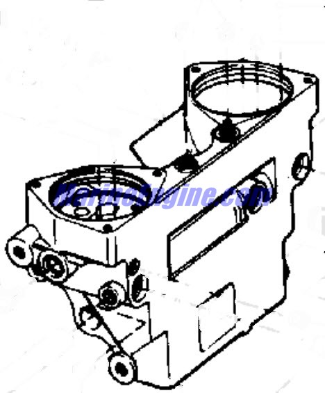 Evinrude Power Tilt And Trim Parts for 1978 85hp 85899C