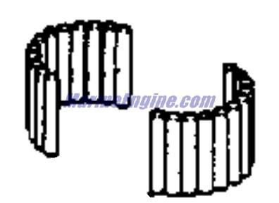 Evinrude Crankshaft & Piston Parts for 1993 15hp E15RLETB