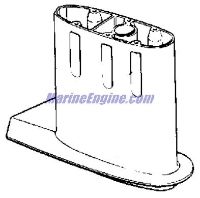 Johnson Gearcase Parts for 1995 15hp J15REOD Outboard Motor