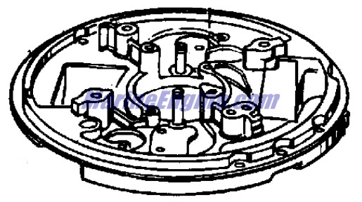 magneto group Parts for 1965 5hp ld-10 Outboard Motor
