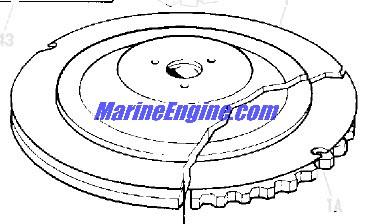 Johnson Magneto Parts for 1975 40hp 40EL75C Outboard Motor