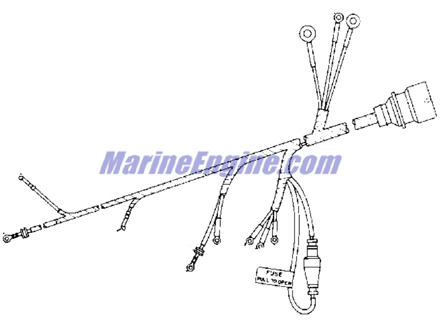 ignition system Parts for 1978 150hp 150840s Outboard Motor