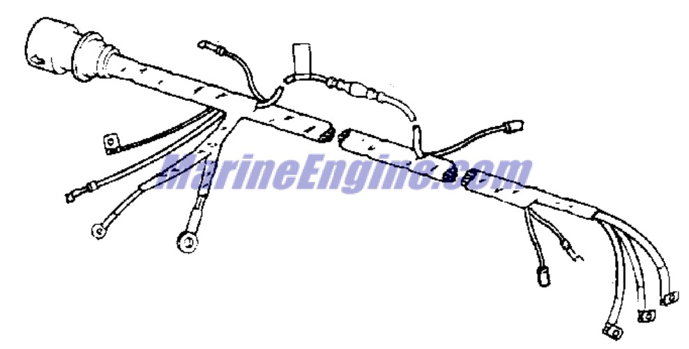 ignition system Parts for 1978 85hp 85899c Outboard Motor