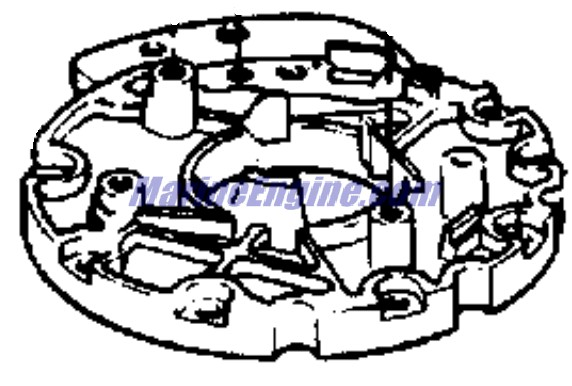 Evinrude Ignition System Parts for 1979 55hp 55975C