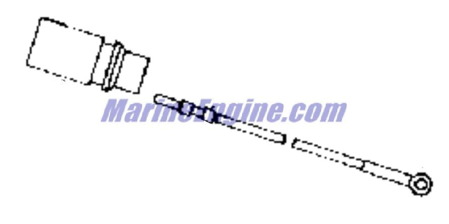 Evinrude Power Trim And Tilt Parts for 1988 40hp E40TTLCCS