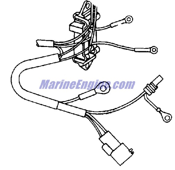 Johnson Power Trim/tilt Electrical Parts for 2000 70hp