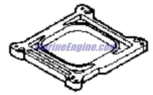 Omc Stern Drive carburetor-4v Parts for 1991 4.3L