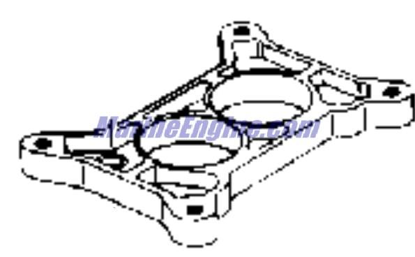 OMC Stern Drive Carburetor Parts for 1990 2.3L 232BMRPWS