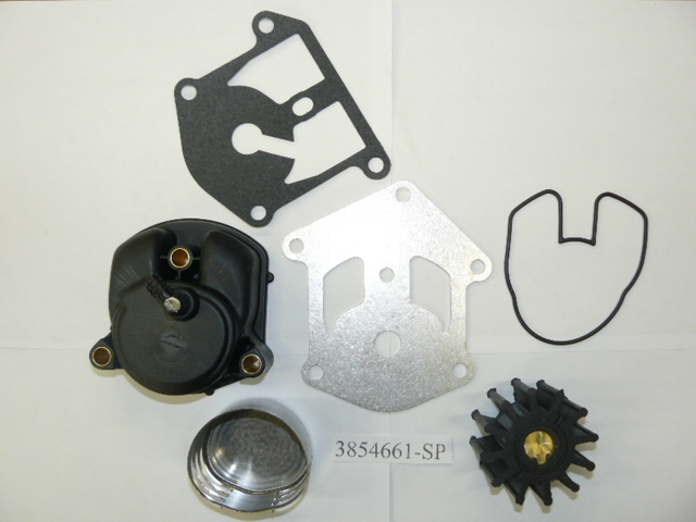 OMC Stern Drive Water Pump & Adaptor Parts for 1993 5.8L