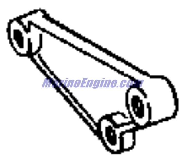OMC Stern Drive Fuel System & Lower Intake Manifold