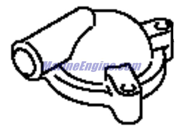 Evinrude Thermostat Parts for 2000 70hp E70 Outboard Motor