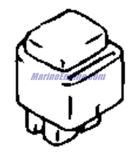 Evinrude Electrical System Parts for 2000 70hp E70