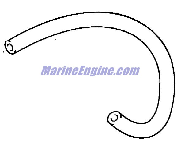 fuel pump Parts for 2001 25hp e25pl4sic Outboard Motor