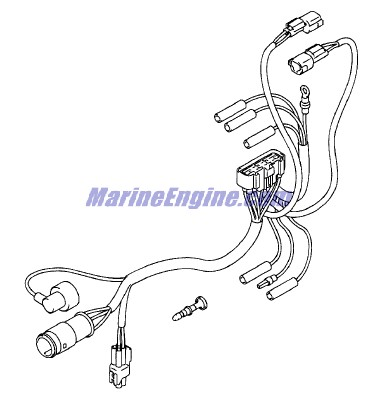 Evinrude Electrical System Parts for 2001 30hp E30PL4SIC