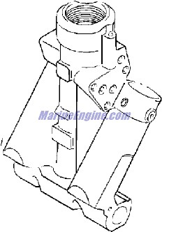 Evinrude Power Trim/tilt Hydraulic Parts for 2000 70hp E70