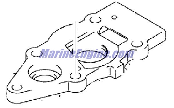 Johnson Water Pump Parts for 2006 5hp J5R4SDA Outboard Motor