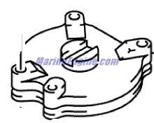Evinrude Shift Rod & Lever Parts for 2000 70hp E70