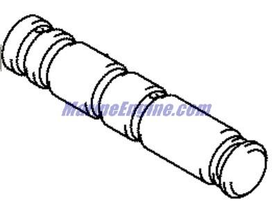 Johnson Power Trim/tilt Cylinder Assembly Parts for 2005