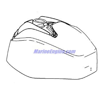 Mariner 40 HP EFI (3 Cylinder) (4-Stroke) Top Cowl Parts