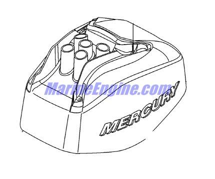 Mercury Marine 25 HP Jet EFI (3 Cylinder) (4-Stroke) Top