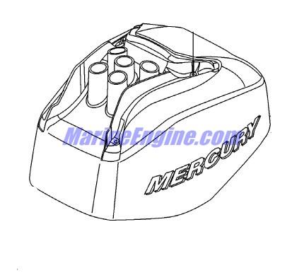 Mercury Marine 30 HP EFI (3 Cylinder) (4-Stroke) Top Cowl