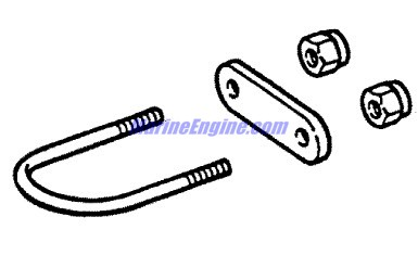 MerCruiser TR / TRS 1977-1993 Gimbal Ring & Steering Lever