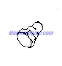 MerCruiser 496 Mag (H.O. Model) Throttle Body, Mechanical