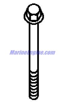 MerCruiser 350 Mag MPI Horizon Alpha / Bravo Exhaust