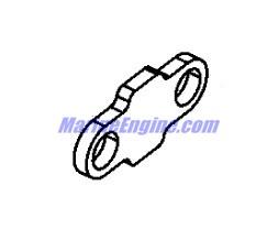 Mercury Marine 90 HP (4-Stroke) Swivel Bracket & Steering
