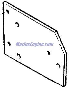 MerCruiser 7.4L Bravo GM 454 V-8 1988-1991 Wiring Harness