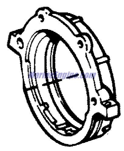 MerCruiser 3.0L GM 181 I / L4 Cylinder Block, Crankshaft