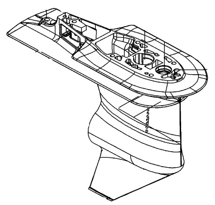 Mercury Marine 115 HP EFI (4-Stroke) Gear Housing