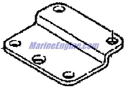Mercury Marine 6 HP (4-Stroke) Remote Control Attaching