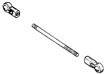 Mercury Marine 9.9 HP Throttle & Shift Linkage (Tiller
