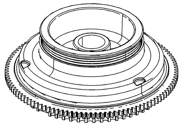 Mercury Marine 115 HP DFI (3 Cylinder) (1.5L) Flywheel