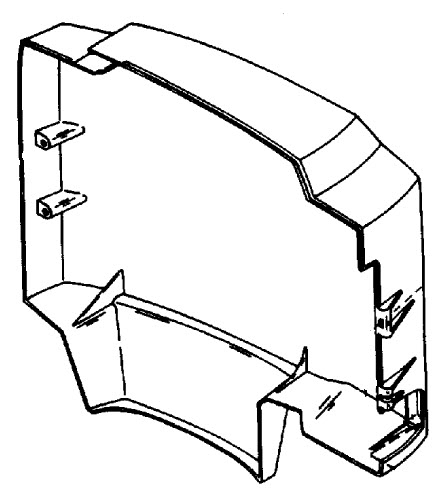 Mercury Marine 650 (3 Cylinder) Cowling & Front Cover Parts