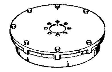 Mercury Marine 40 HP (4 Cylinder) Flywheel, Stator