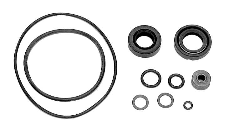 Force 40 HP (1992-1994) Gear Housing Parts