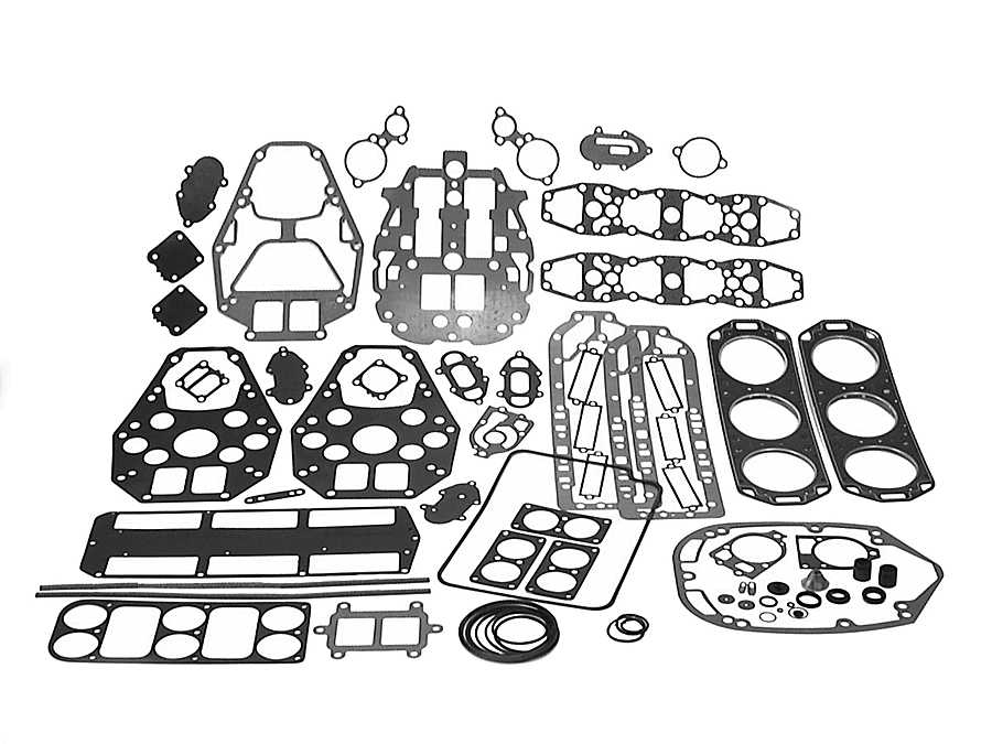 Mercury Marine XR-4 Swivel Bracket & Steering Arm Parts