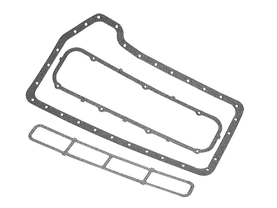 Cylinder Block, Oil Pump & Oil Pan for Mercruiser (165 HP