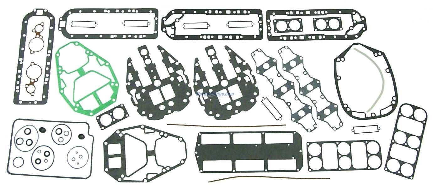 Mercury Marine V-175 HP Relief Valve System Parts