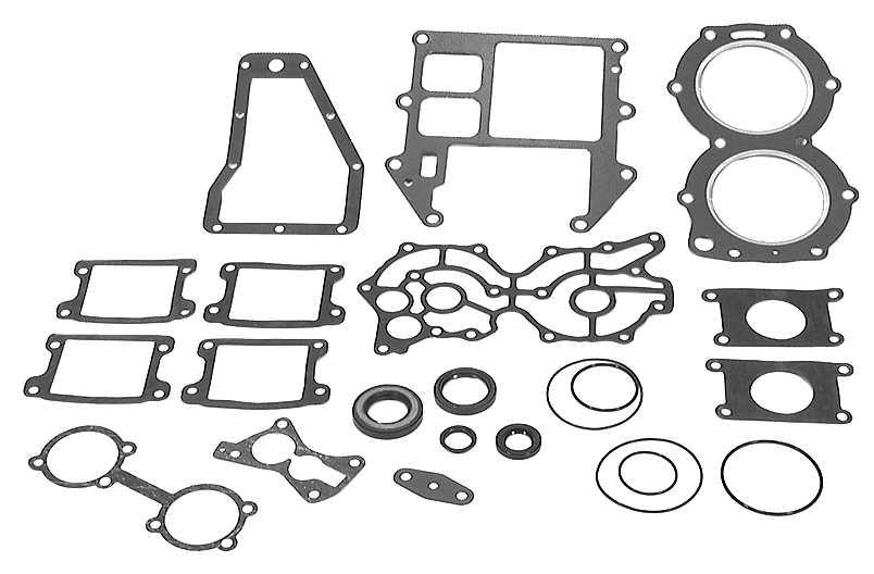 Mariner W-55 HP Carburetor Parts