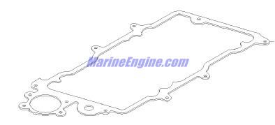 MerCruiser 350 Mag MPI MIE Intake Manifold & Fuel Rail Parts