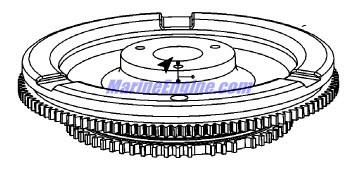 Mercury Marine V-150 HP EFI (2.5L) Flywheel / Alternator Parts